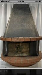 Mid Century Electric Hanging Fireplace $150.00