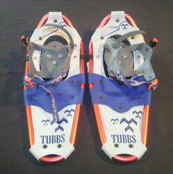 Tubbs Storm 19 Kids Snowshoes Red Blue Grey Youth Winter Snow Shoe $44.99