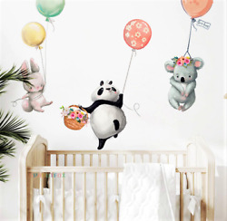 Colorful Balloon Wall Stickers Decoration Kids Room Bedroom Nursery $5.17