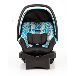 Evenflo LiteMax Sport Rear Facing Infant Car Seat Reid Blue $53.00