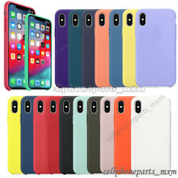 For iPhone 11Pro XR X XS Max 8 7 Plus Liquid Silicone Shockproof Soft Case Cover $5.98
