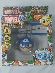 NEW Marvel Heli Ball captain America Helicopter Ball RC Toy $14.99