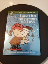 Peanuts: I Want a Dog for Christmas Charlie Brown Deluxe Edition @Brand NEW@ $11.00