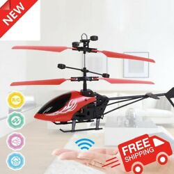 Drone RC Flying Helicopter Flying LED Light Toys for Children Remote control $14.50