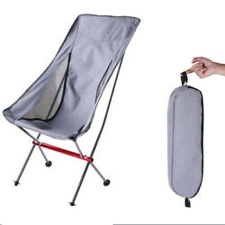 Backpack Beach Chair Folding Portable Chair Camping Outdoor with Storage Bags $55.99