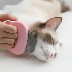 Pet Cats Hair Removal Massage Shell Comb Comfy Deshedding Cleaning Brush US $5.69