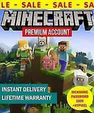 Minecraft Java Premium Edition PC and MAC Code With Warranty 100% worked $5.99