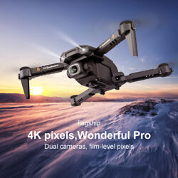 LS XT6 4K Drone HD Dual Camera WiFi FPV Hold Foldable RC Helicopter Child Toy US $29.66