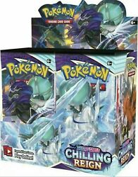 Pokemon Chilling Reign Booster Box 36 Pack Pre Sale Ships 6 18 SEALED NEW $123.33