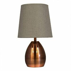 Tootoo Star 13 Inch Small Bedside Table Lamp for Bedroom Living Room Nightsta... $33.37