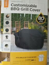 Classic Accessories Customizable BBQ Grill Cover 80quot; X Large New $40.00
