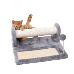 Small Cat Tree Cat Scratching Post Scratch Pad Activity Center with Play a Ball $28.99