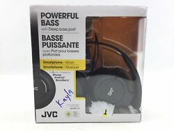 JVC HASR185B Wired Over the head Headset Black $9.59