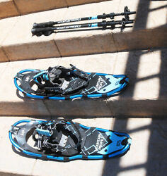 Mountain Profile Snowshoes Model 825 with Poles and Bag 8quot; x 25quot; $79.99