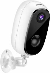 Security Camera Outdoor with 10000mAh Battery Zumimall 1080P Wireless WiFi Came $55.00