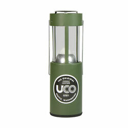 UCO Original Candle Lantern Green Painted Ultralight Aluminum w 9 Hour Candle $26.49