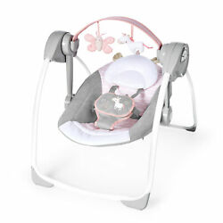 Baby Bouncer Swing Seat Rocker Portable Electric W Sounds Infant Cradle Chair $74.99
