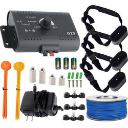 Wireless Electric Dog Fence Pet Containment System Shock Collars 3 Dogs US $54.99
