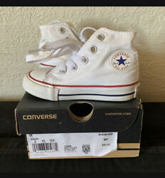Converse All star toddler Size 5 worn w box $19.99