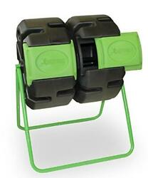 FCMP Outdoor Dual Body Tumbling Composter by HOTFROG $154.99