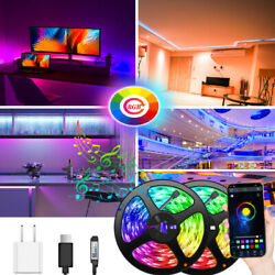 100ft USB Powered Bluetooth LED Strip Light 5050 SMD Flexible LED Color Changing