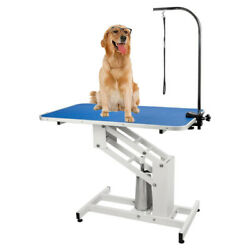 Heavy Duty Lifting Pet Grooming Table Adjustable Portable Large Dog Grooming $287.99