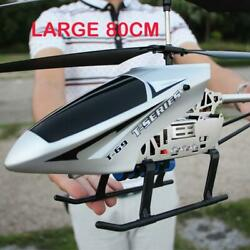 3.5ch 80cm Super Large Helicopter Chopper With Remote Control Aircraft Anti fall $73.55
