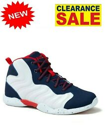 And1 Assist 2.0 Youth SIZE 5 Basketball Athletic Sneaker Big Boys COLOR WHITE $15.99