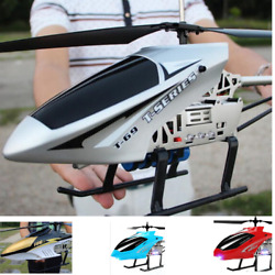 RC Helicopter Toy Super Large Fly Controlled By 3.5 Channel 2.4G 85 9.5 24cm Kid $150.08