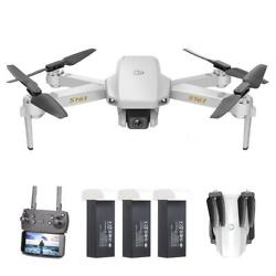 S161 Mini Pro Drone Camera 4K Gesture Photos Video Quadcopter 3 Batteries Gifts $31.39