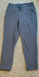 Athleta Midtown Athletic Ankle Pant Joggers Lightweight Gray Sz 2 $25.99
