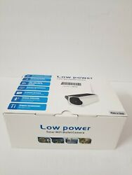 Low Power White Black Human Induction Solar Wifi Bullet Camera $74.99