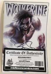 Wolverine Vol 7 #1 Midtown Exclusive Gabriele Dell Otto Variant Cover Signed COA $29.99