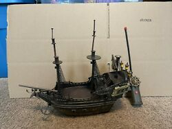 PIRATES OF THE CARIBBEAN BLACK PEARL REMOTE CONTROL SHIP RC FOR PARTS $49.95