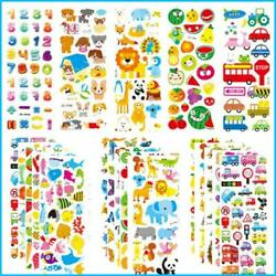 20sheets 3D Stickers for Kids amp; Toddlers 500 Puffy Stickers Variety Pack for $4.72