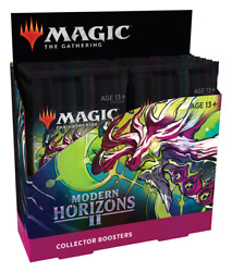 Modern Horizons 2 Collector Booster Box MTG Magic the Gathering Brand New SEALED $399.88