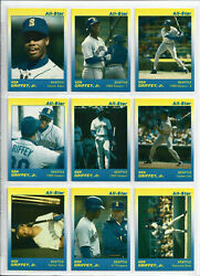 Ken Griffey Jr Mariners Red 1991 Star Company All Star Set 9 Limited 500 RARE $32.00