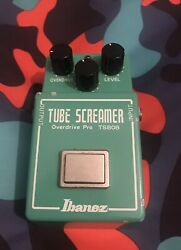 Ibanez TS808 tube screamer with JRC4558D rare made in Japan vintage $2500.00