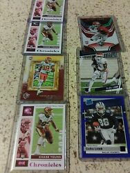 Chase Young Rc. Lot And Ceedee Lamb 7 cards total bonus rc with order $16.00