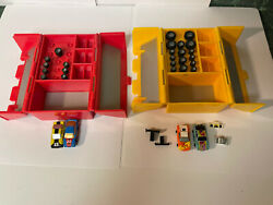 Micro Machines Lot Of 2 Speed Shops 1 nearly complete $35.00
