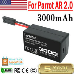 11.1V 3000mAh Li Po Upgrate Battery Replace For Parrot AR Drone 2.0 Quadcopter $16.99