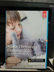 Adobe Photoshop Elements 2020 Windows PC Mac Disc DVD Version New and Sealed $44.99