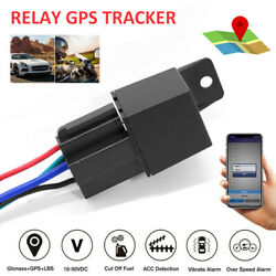 GPS Car Tracker Real Time Device Locator Remote Control Anti theft 10 40V ^ $19.36