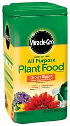 Miracle Grow Water Soluble 5 lb. All Purpose Plant Food All Season Plant Food $18.50