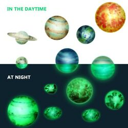 133PCS Stars Planets Wall Bedroom Home Decor Art Decals Fluorescent Stickers $14.99