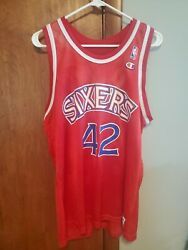 Jerry Stackhouse 76ers jersey red. Champion size 44. $45.00