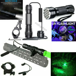 New 1000 Lumen Tactical Flashlight LED Rechargeable for Outdoor Hunting Shooting $6.88
