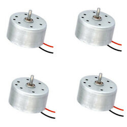 4 Pics Flat Cylinder DC Motor RC Toys High Speed Heavy Load Helicopter Drones $20.00