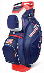 Sun Mountain C 130 Cart Bag 14 Ind. Full Dividers 2019 Navy White Red USA New $219.99