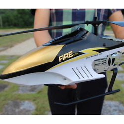 ✅2.4GHz RC Large Helicopter Aircraft Fighter Large RTF Drone LED Lights Airplane $89.95